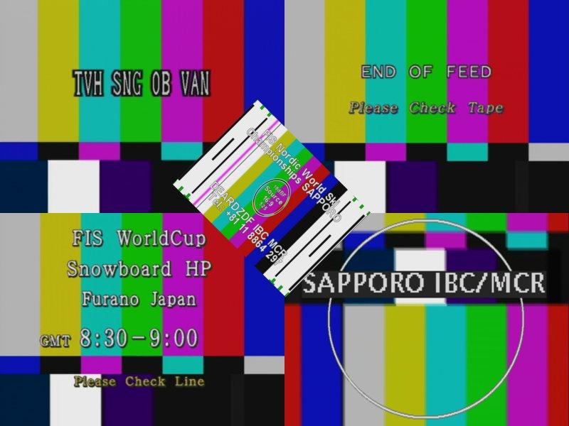 Bild CSSR TV Testbild CSFR